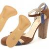 Полустелька Donna профилактическая ортопедическая с Т-образным валиком для использования в открытой обуви на высоком каблуке (две штуки)